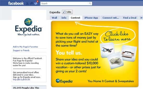 Expedia-Facebook