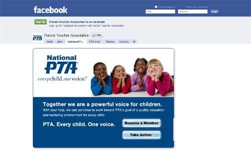 Facebook And PTA Partner On Internet Child Safety