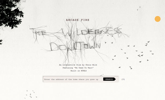 Google Pushes Chrome With Arcade Fire Experiment