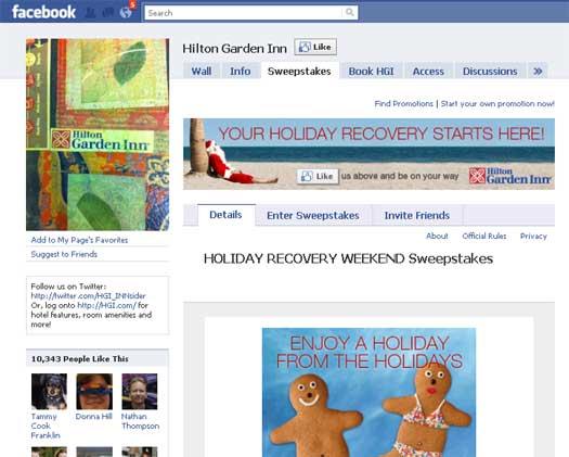 Hilton-Facebook