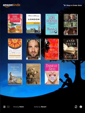 Kindle-for-iPad-App