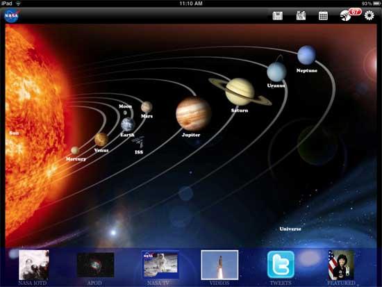 NASA-iPad-App