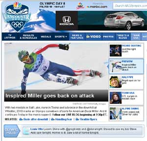 Yahoo And NBC Benefit From Winter Olympics