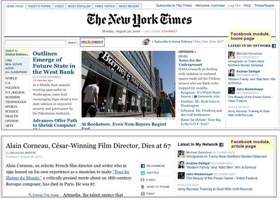NYTimes-Facebook