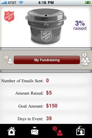 Salvation Army Launches iPhone App
