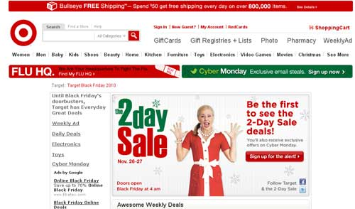 Target Launches Online Daily Deals For The Holiday Season