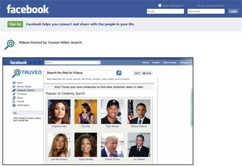 Truveo Launches Video Search App On Facebook