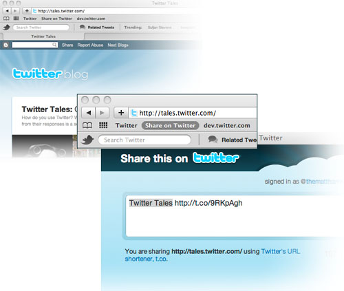 Tweet Button Bookmarklet Introduced