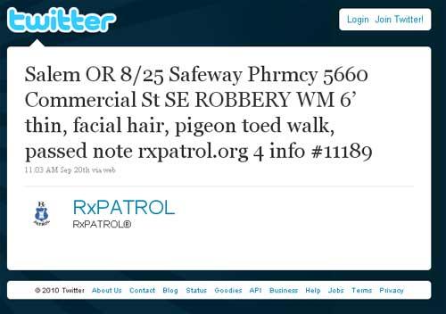 Twitter-RxPatrol