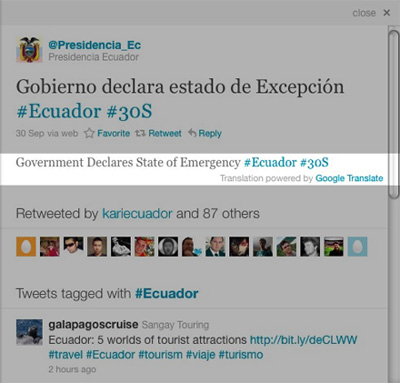 Twitter Introduces Translations, More Local Trends