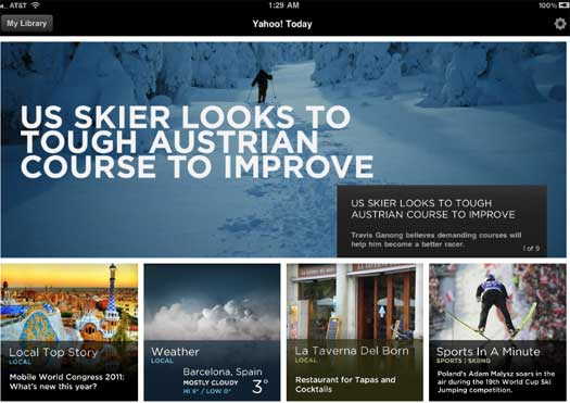 Yahoo To Launch Digital Newsstand For iPad And Android Tablets