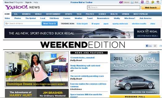 Yahoo-Weekend-Edition