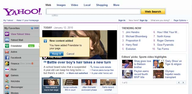 Yahoo Southeast Asia Seals Deal With Friendster