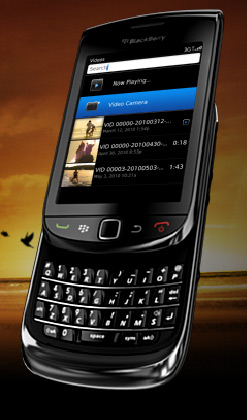 BlackBerry Torch with BlackBerry 6