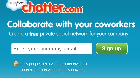 Chatter.com from Salesforce