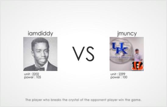 Dot War - @jmuncy vs. @iamdiddy