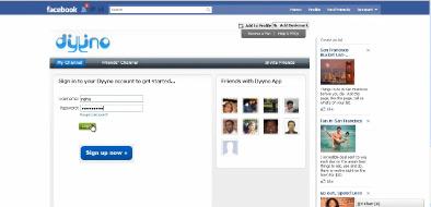 Dyno Facebook App
