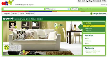 eBay Says Buying Used Is Being Green