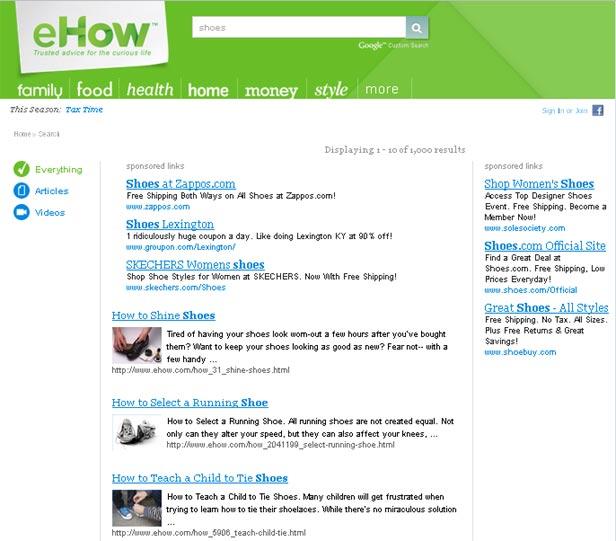 AdSense Custom Search Ads Introduced