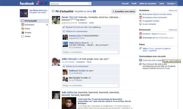 Facebook Design tweaks
