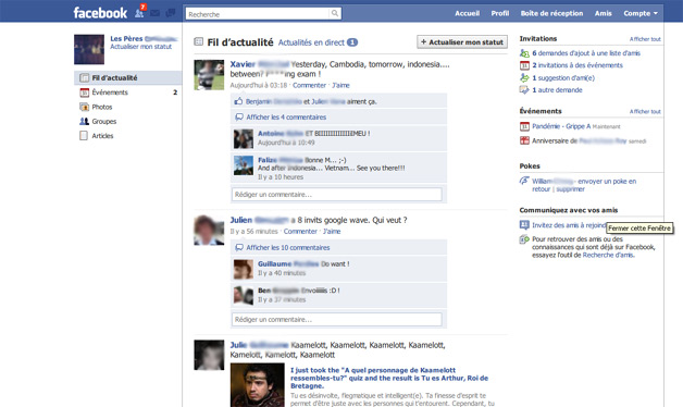 Facebook Design tweaks