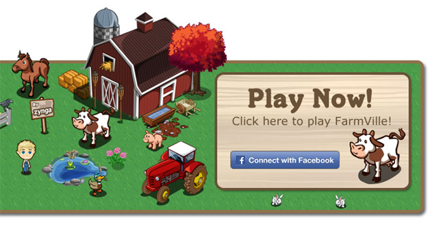 Farmville - Now integrated with Yahoo