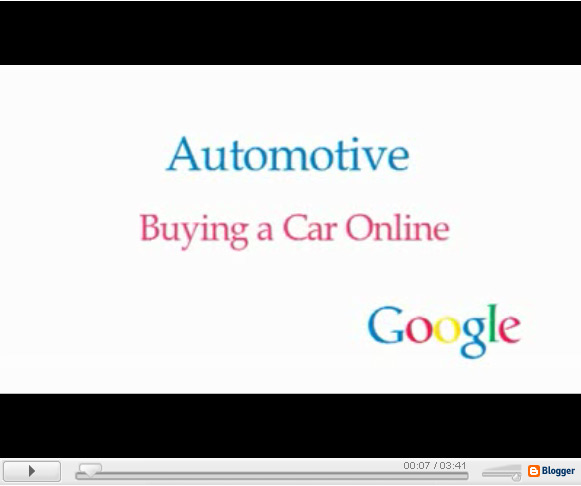 Google Talks to People About Online Auto Habits