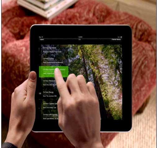 iPad-TV-App