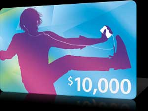 Apple Holds iTunes Contest Marking 10 Billionth Download