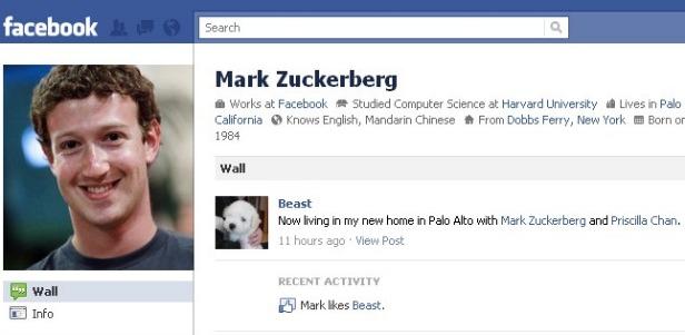 Mark Zuckerberg Likes Beast the Dog
