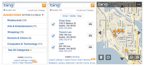 New Bing Mobile Features