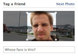 Facebook Testing Facial Detection for Tagging in Photos
