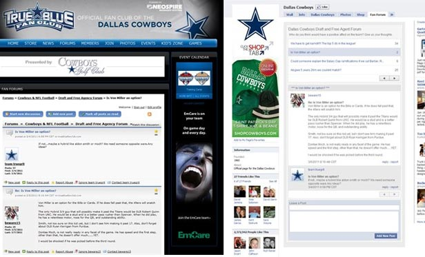 Pluck Does Facebook for Dallas Cowboys with help from Buddy Media