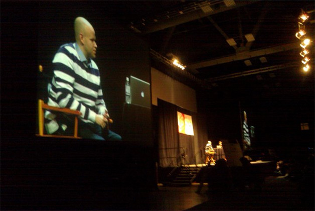 Daniel Ek of Spotify at keynote at SXSW on Future of Music Delivery