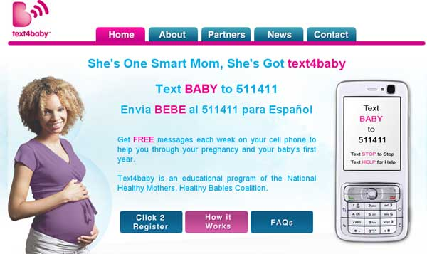New Text Campaign Aims To Inform Pregnant Women