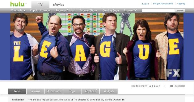 The League on Hulu