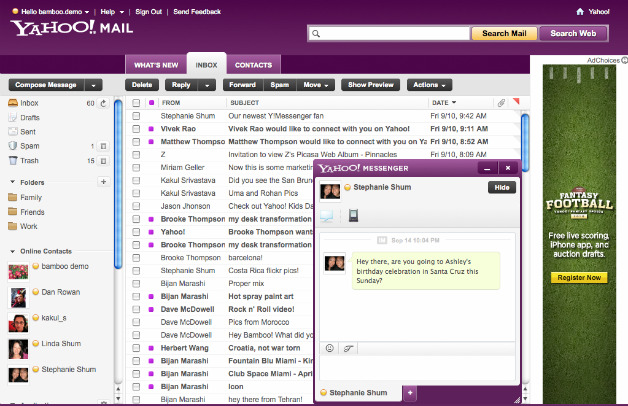 Yahoo Readies New Mail and Search Features, iPad App, Custom Ads