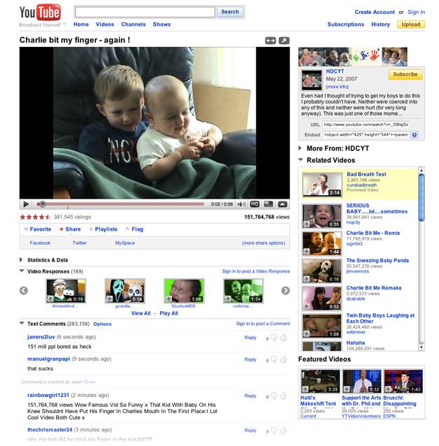 YouTube - Before