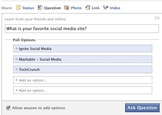 Facebook Questions step 2