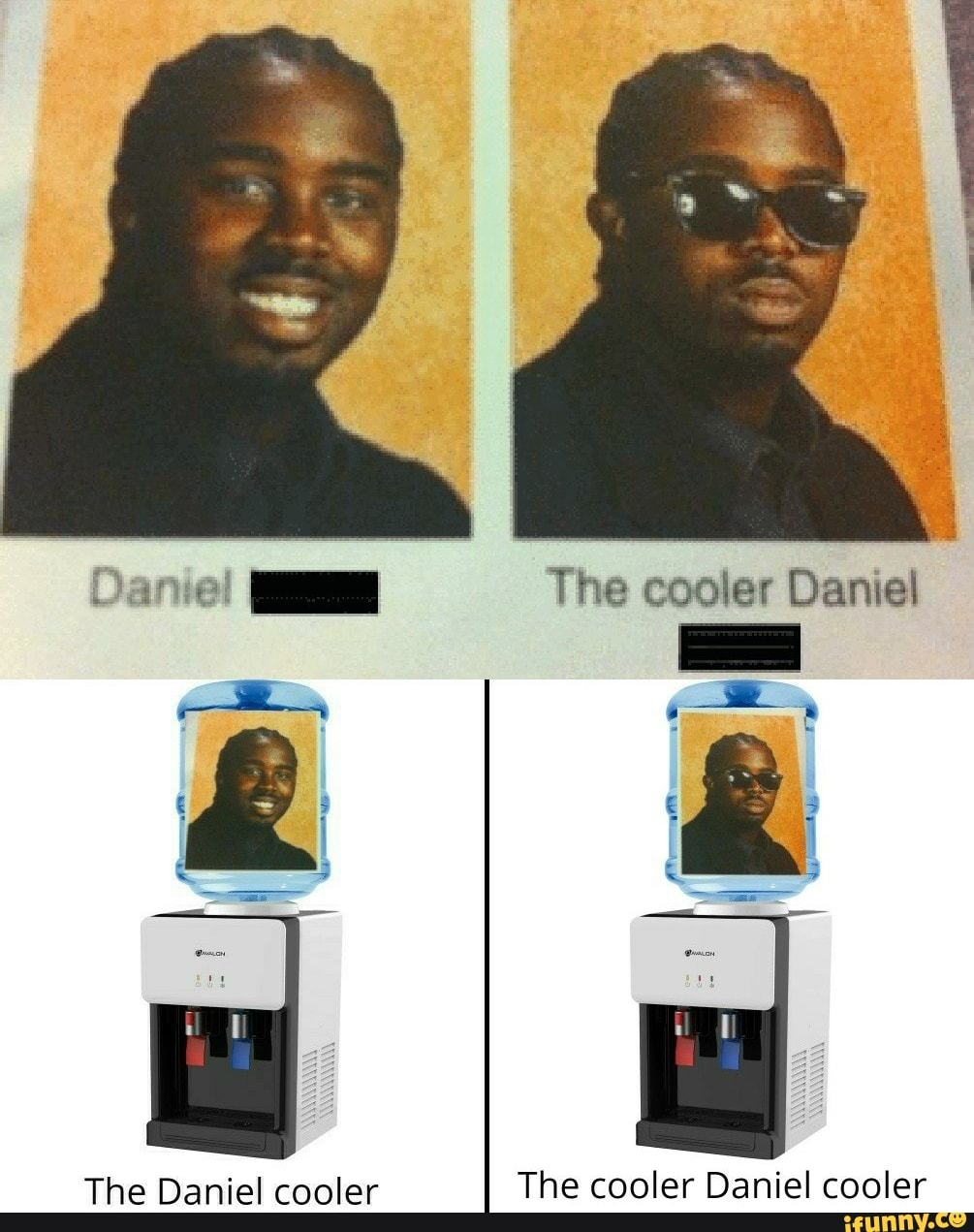 Water Daniel Water The Cooler Daniel Water Meme On Me Me