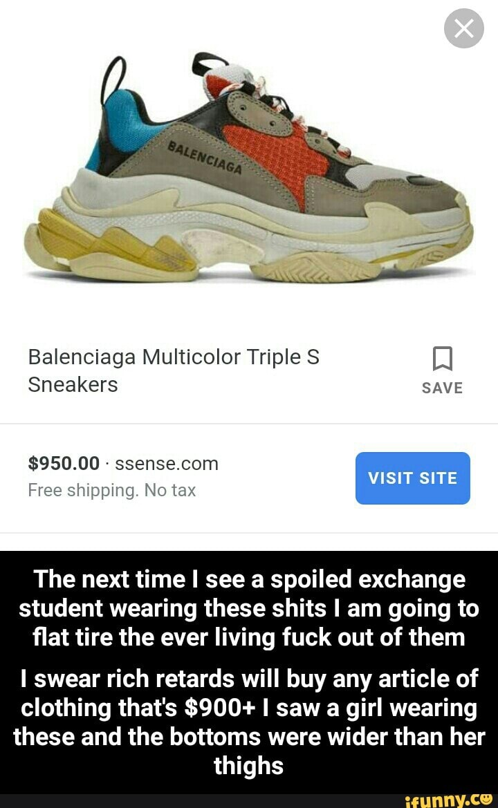 Project Native Informant Market Research Balenciaga S Triple S