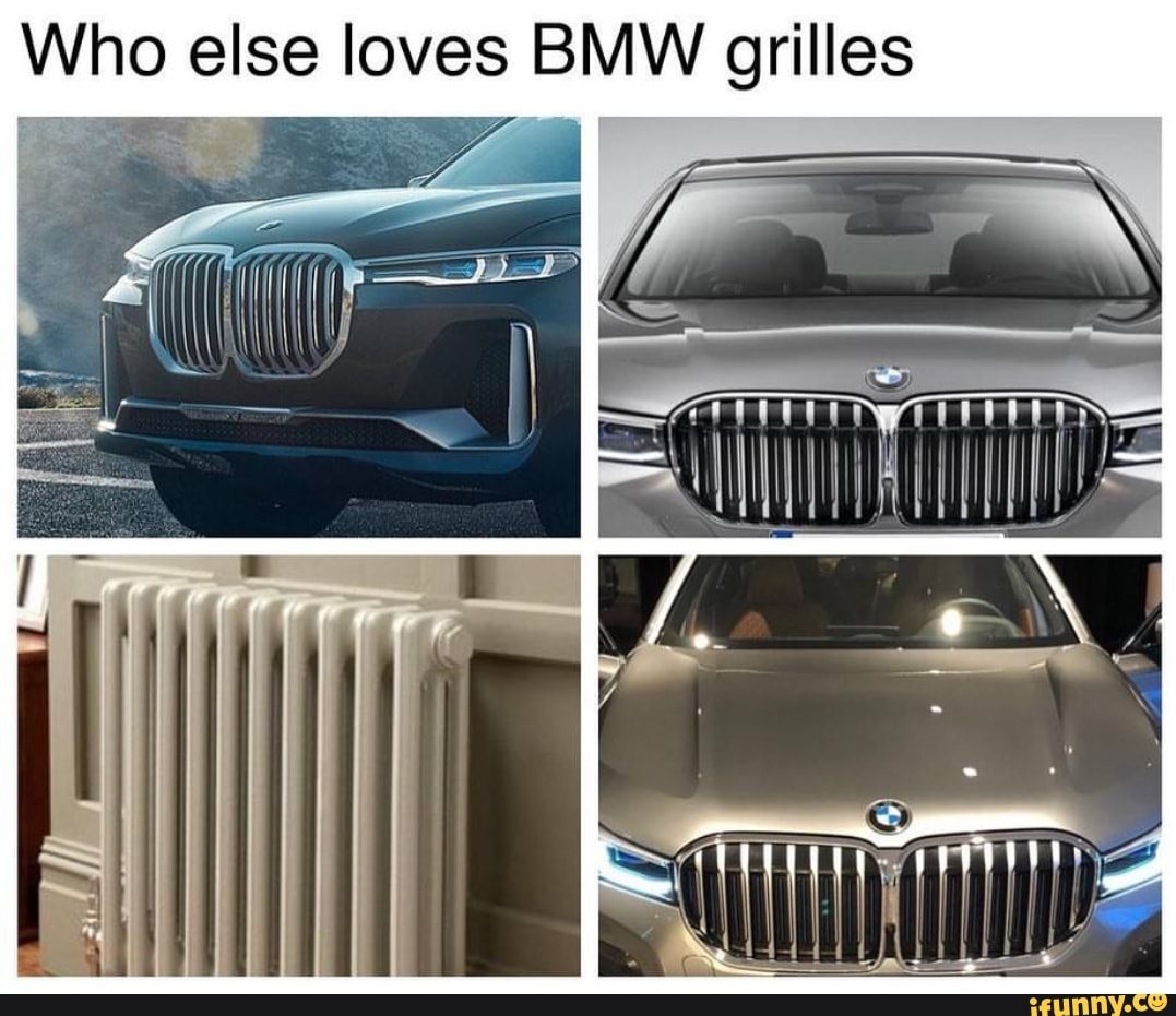 New Bmw Cars Front Grille Larger Huge Whole Front Photoshopped