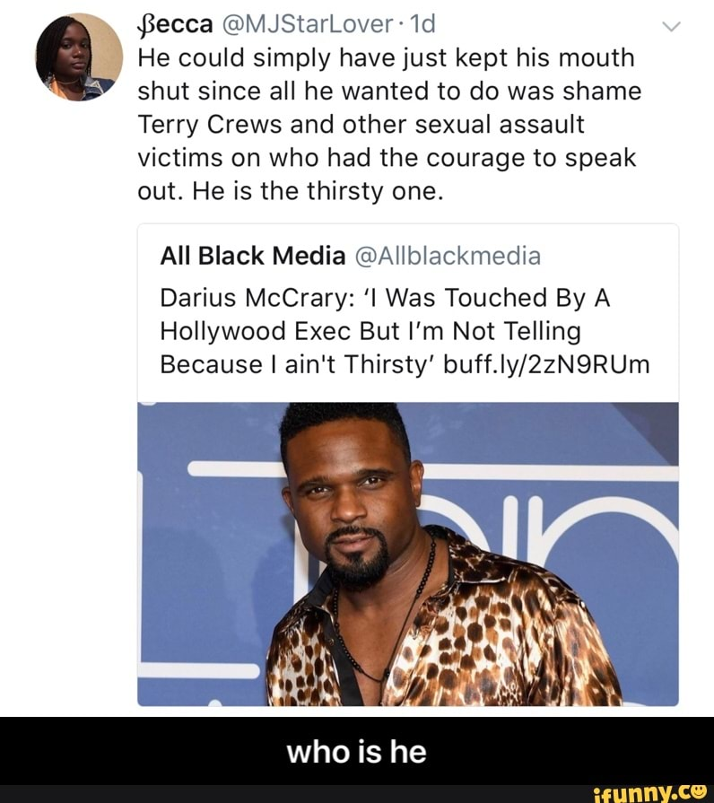 Darius Mccrary From Family Matters Opened Up About Why Jaimee