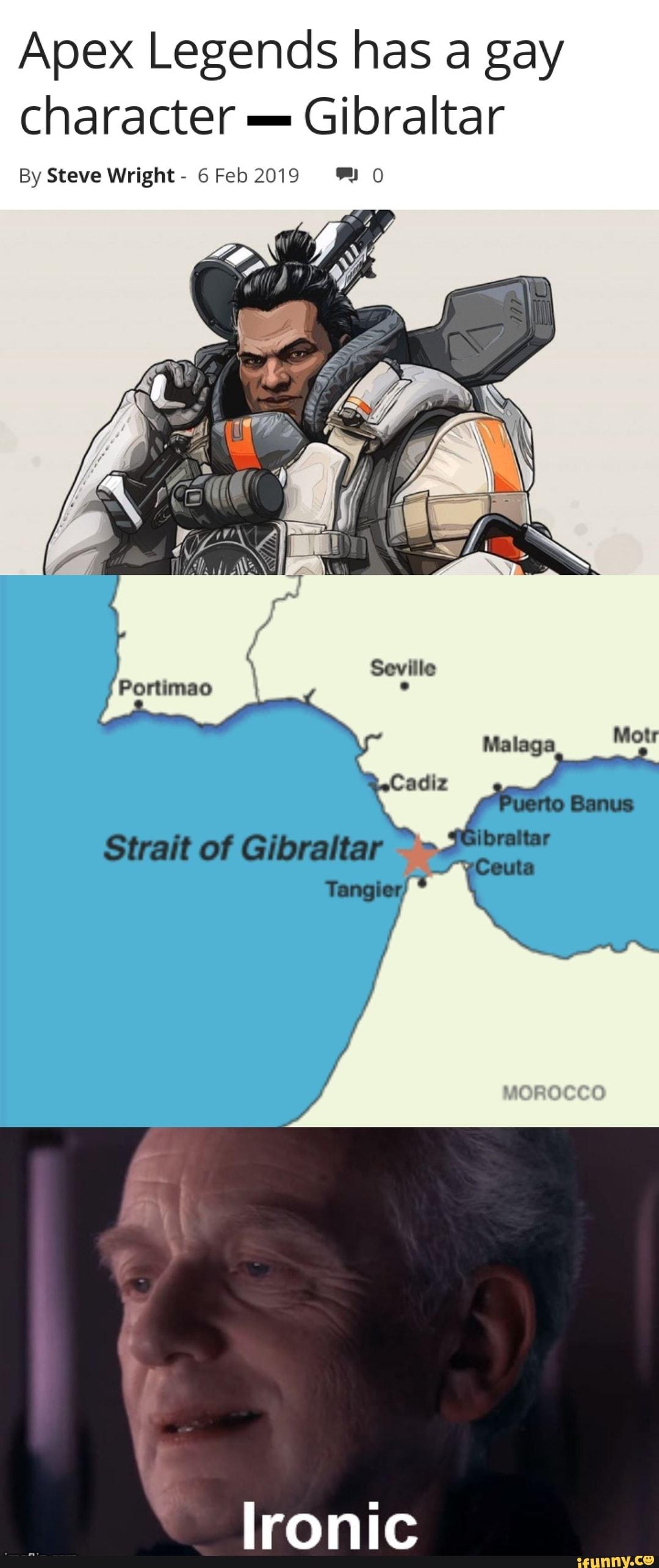 Apex Legends Apex Gibraltar Gibby Apex Legend Art