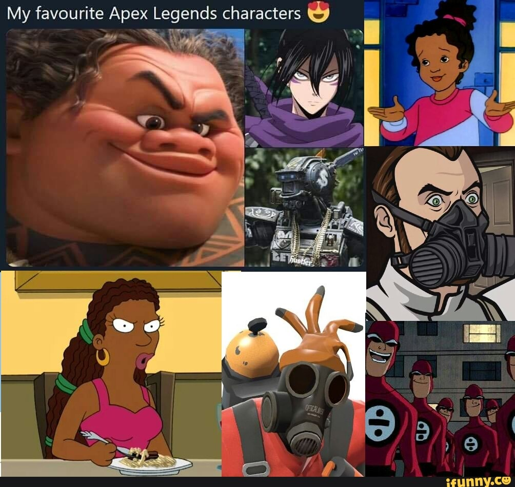 The Real Mvp Apexlegends Apex Legends Meme Facebook