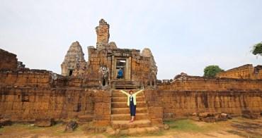 吳哥窟旅遊推薦|柬埔寨景點 東美蓬寺East Mebon 湖中神廟
