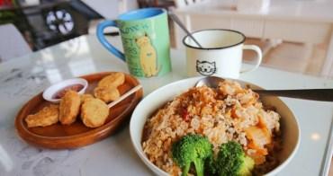艾隆義式廚房 彰化美食推薦Iron pasta house,貓咪主題餐廳還有貓坐檯,平價料理專屬貓杯