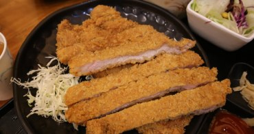 台中小莊壽司平價日式料理 大胃王必吃比臉大的炸豬排套餐必點,兩塊豬排好虐心!