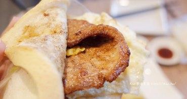 台中肉蛋土司|台中北區早午餐,排隊美食推薦沙拉土司,近科博館旁