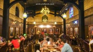 宜蘭礁溪|四圍堡車站哈利波特主題餐廳 進入奇幻魔法世界
